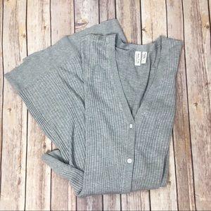 MEADOW RUE Long cardigan duster sweater